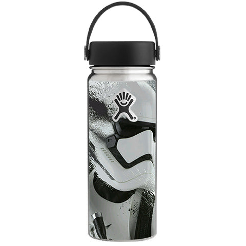 Storm Guy, Rebel, Troop Hydroflask 18oz Wide Mouth Skin