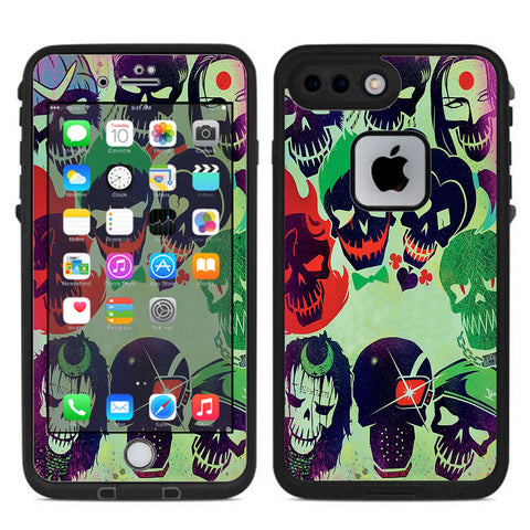 Skull Squad, Green Berets Lifeproof Fre iPhone 7 Plus or iPhone 8 Plus Skin