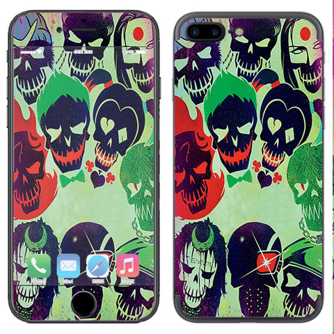 Skull Squad, Green Berets Apple  iPhone 7+ Plus / iPhone 8+ Plus Skin