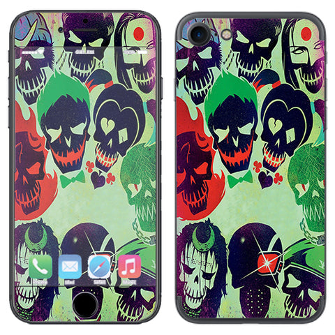 Skull Squad, Green Berets Apple iPhone 7 or iPhone 8 Skin