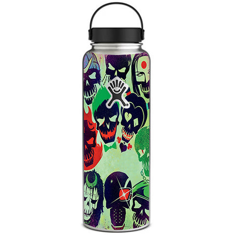 Skull Squad, Green Berets Hydroflask 40oz Wide Mouth Skin