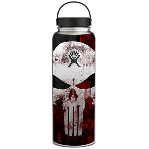 Punish Face On Glowing Red Hydroflask 40oz Wide Mouth Skin
