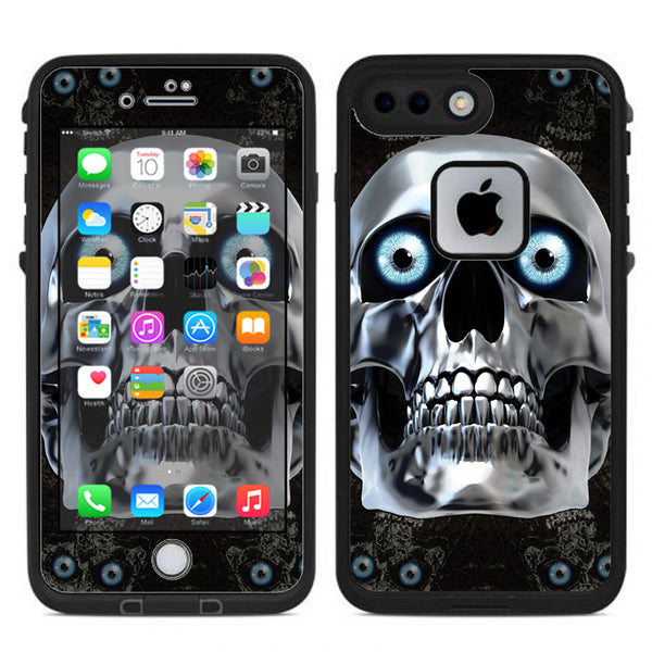 brand new f9bfd 17670 Punish Face On Glowing Red Lifeproof Fre iPhone 7 Plus or iPhone 8 Plus Skin