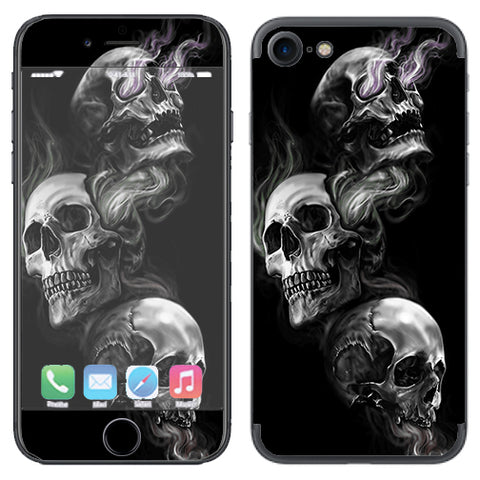 Glowing Skulls In Smoke Apple iPhone 7 or iPhone 8 Skin