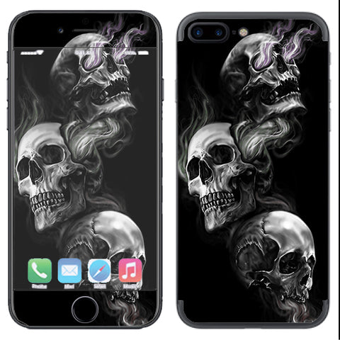 Glowing Skulls In Smoke Apple  iPhone 7+ Plus / iPhone 8+ Plus Skin