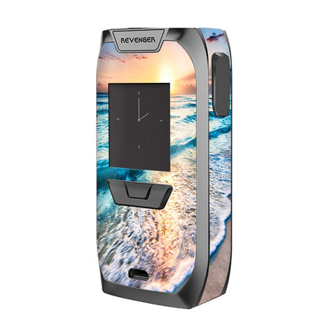 Sunset On Beach Vaporesso Revenger Skin