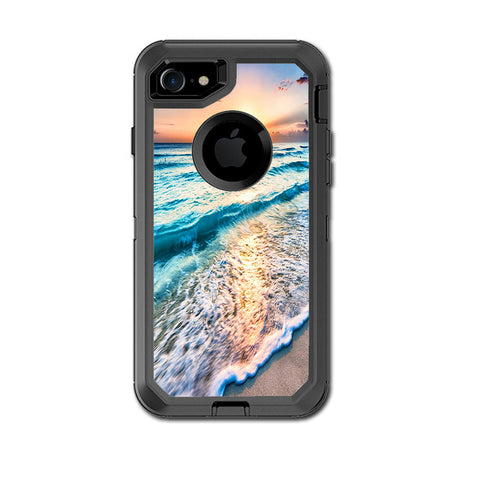 Sunset On Beach Otterbox Defender iPhone 7 or iPhone 8 Skin
