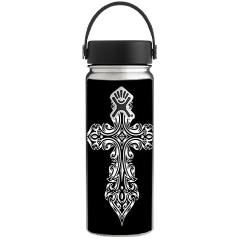 Tribal Celtic Cross Hydroflask 18oz Wide Mouth Skin