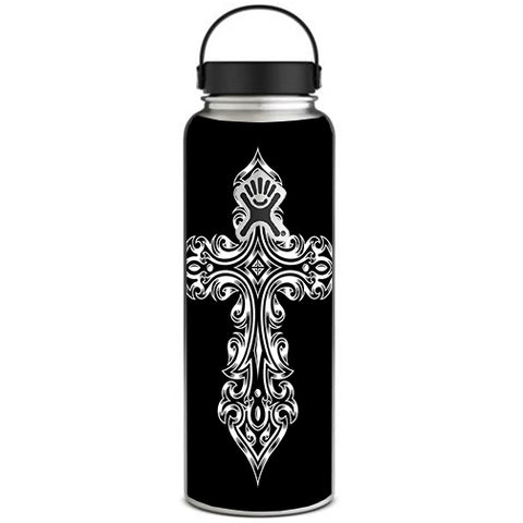Tribal Celtic Cross Hydroflask 40oz Wide Mouth Skin