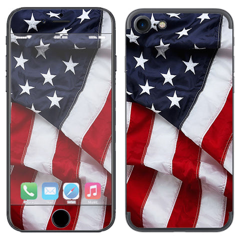 Us Flag, America Proud Apple iPhone 7 or iPhone 8 Skin