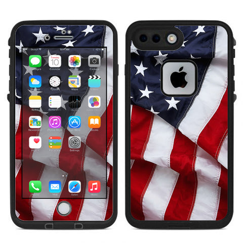 Us Flag, America Proud Lifeproof Fre iPhone 7 Plus or iPhone 8 Plus Skin