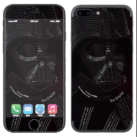 Lord, Darkness, Vader Apple  iPhone 7+ Plus / iPhone 8+ Plus Skin