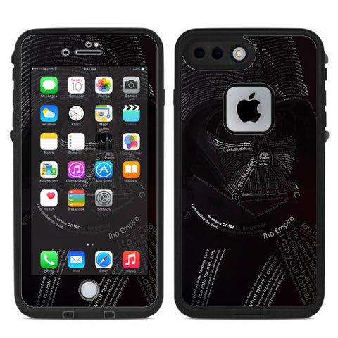 Lord, Darkness, Vader Lifeproof Fre iPhone 7 Plus or iPhone 8 Plus Skin