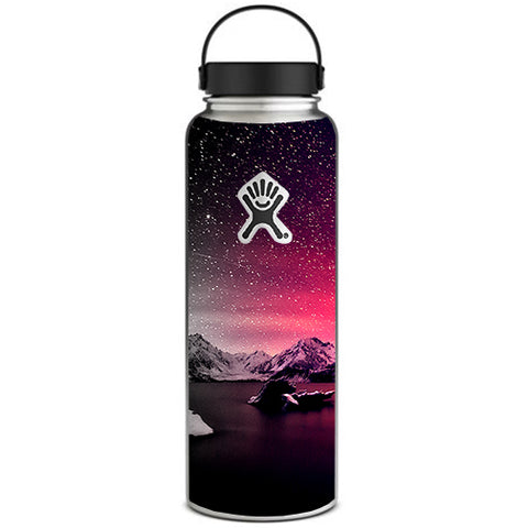 Winter Starry Night Hydroflask 40oz Wide Mouth Skin