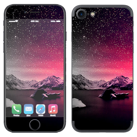 Winter Starry Night Apple iPhone 7 or iPhone 8 Skin