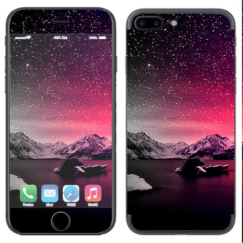 Winter Starry Night Apple  iPhone 7+ Plus / iPhone 8+ Plus Skin