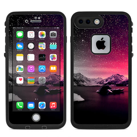 Winter Starry Night Lifeproof Fre iPhone 7 Plus or iPhone 8 Plus Skin