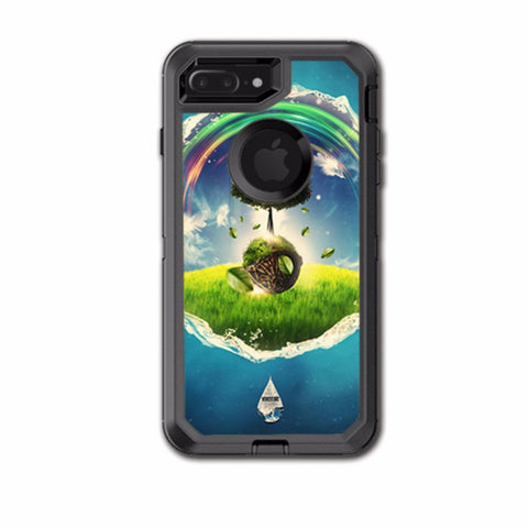 Wonderland Utopia Rainbow Otterbox Defender iPhone 7+ Plus or iPhone 8+ Plus Skin