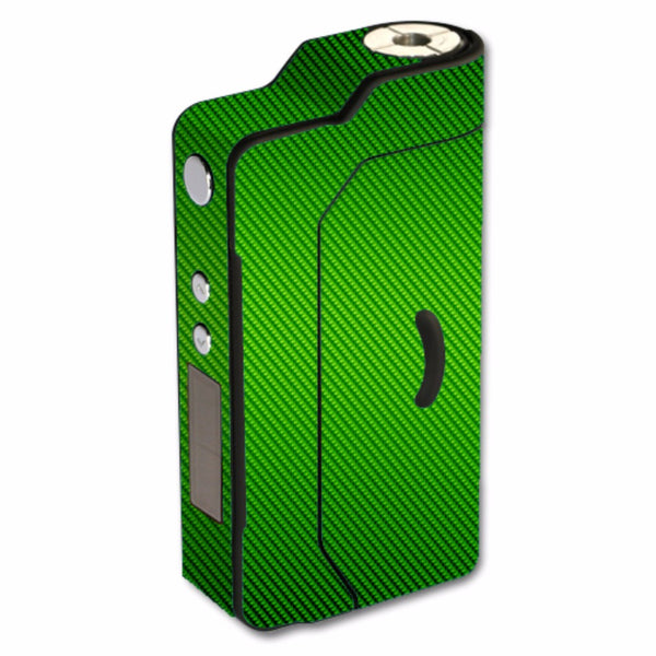 Lime Green Carbon Fiber Graphite Sigelei 150W TC Skin