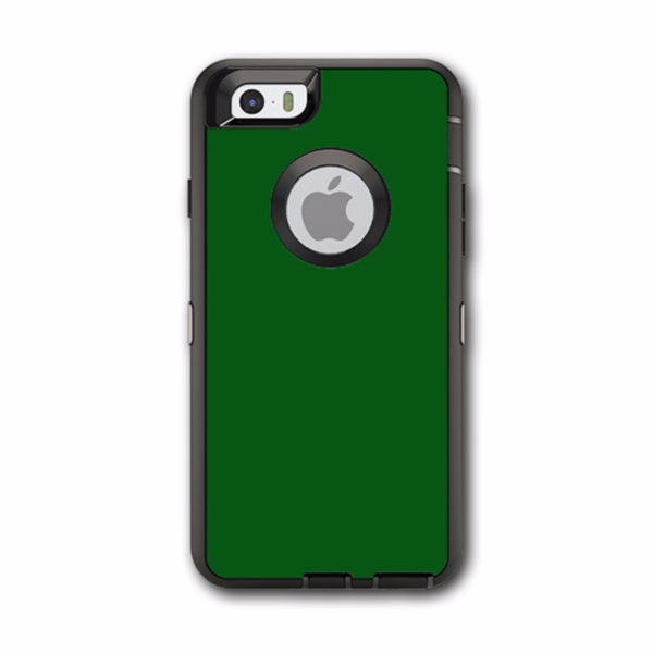 Solid Green,Hunter Green Otterbox Defender iPhone 6 Skin