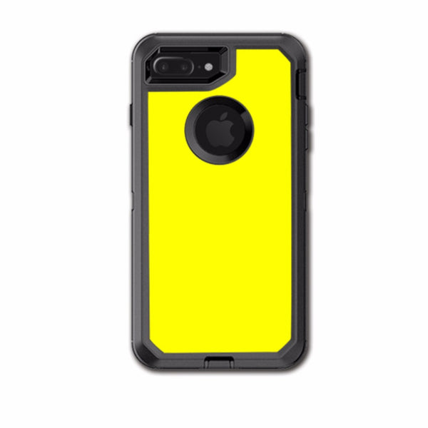 Bright Yellow Otterbox Defender iPhone 7+ Plus or iPhone 8+ Plus Skin