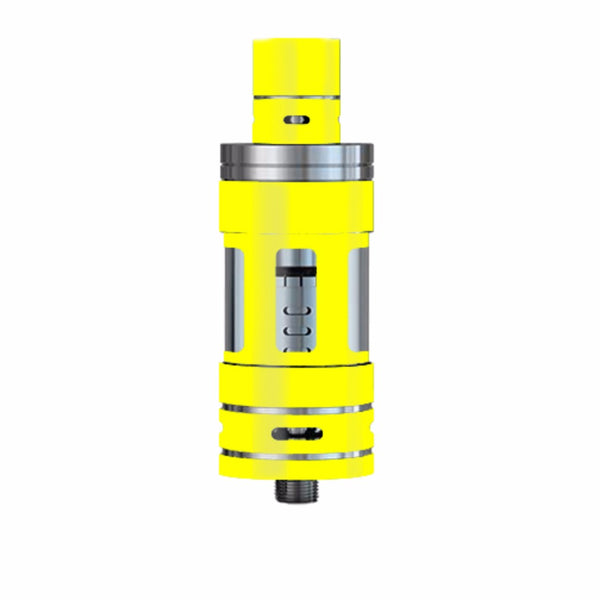 Bright Yellow Smok TFV4 Tank Skin