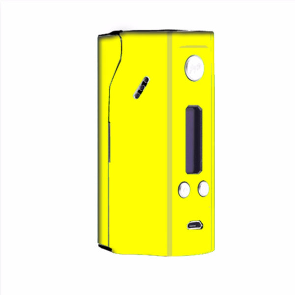 Bright Yellow Wismec Reuleaux RX200  Skin