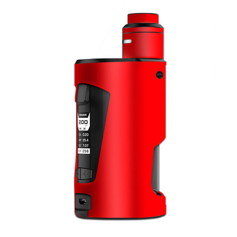 Bright Red G Box Squonk Geek Vape Skin