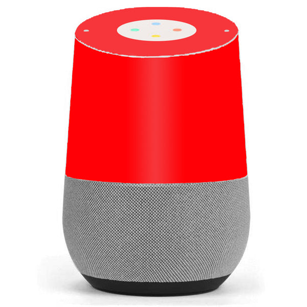 Bright Red Google Home Skin