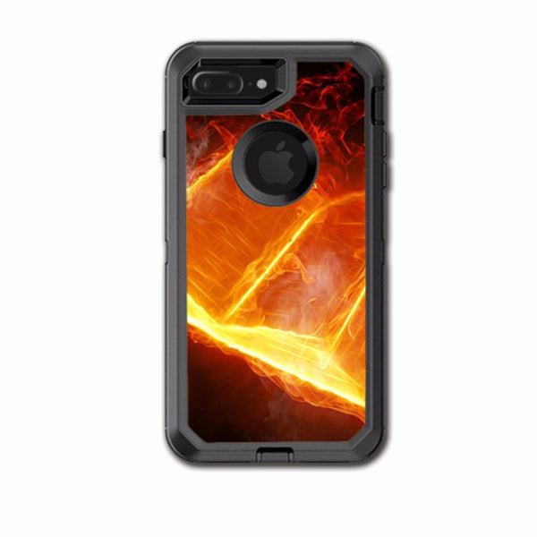 Fire, Flames Otterbox Defender iPhone 7+ Plus or iPhone 8+ Plus Skin