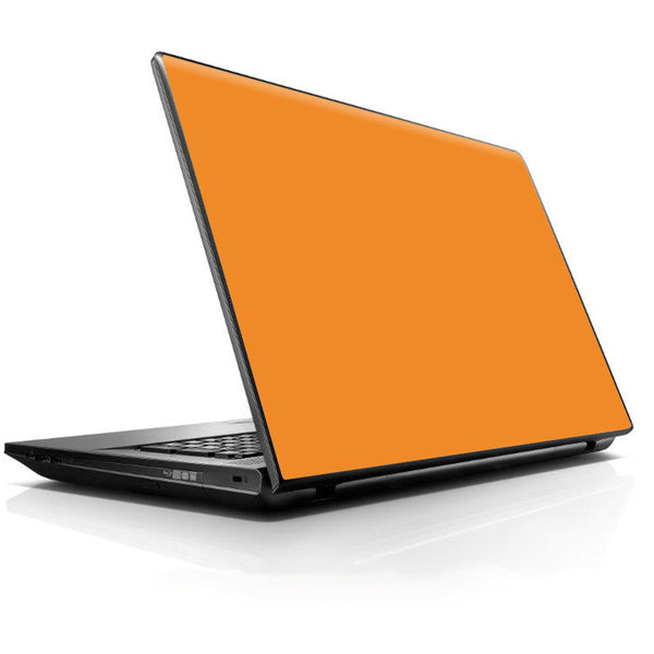 Dark Orange Universal 13 to 16 inch wide laptop Skin