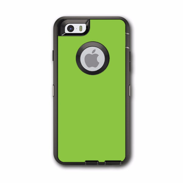 Lime Green Otterbox Defender iPhone 6 Skin
