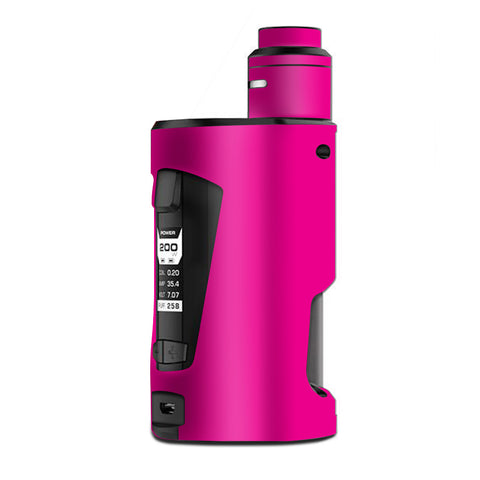 Hot Pink G Box Squonk Geek Vape Skin
