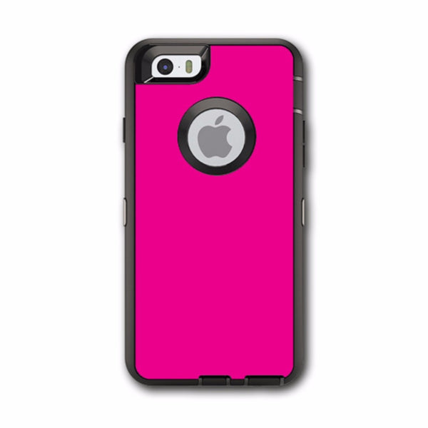 Hot Pink Otterbox Defender iPhone 6 Skin