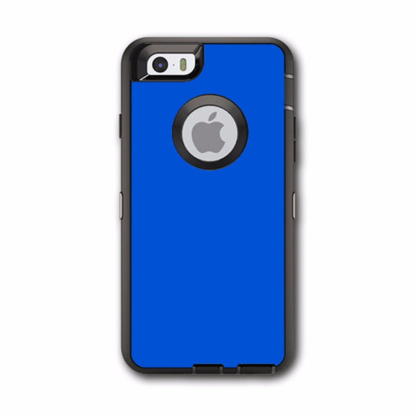 Solid Blue Otterbox Defender iPhone 6 Skin