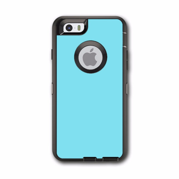 Baby Blue Color Otterbox Defender iPhone 6 Skin