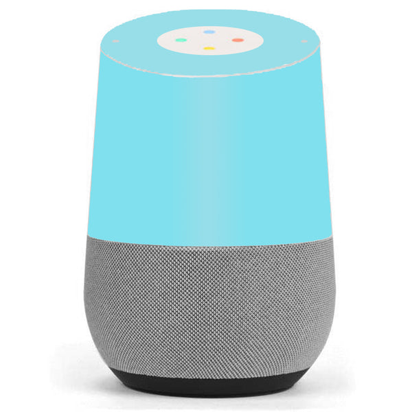 Baby Blue Color Google Home Skin