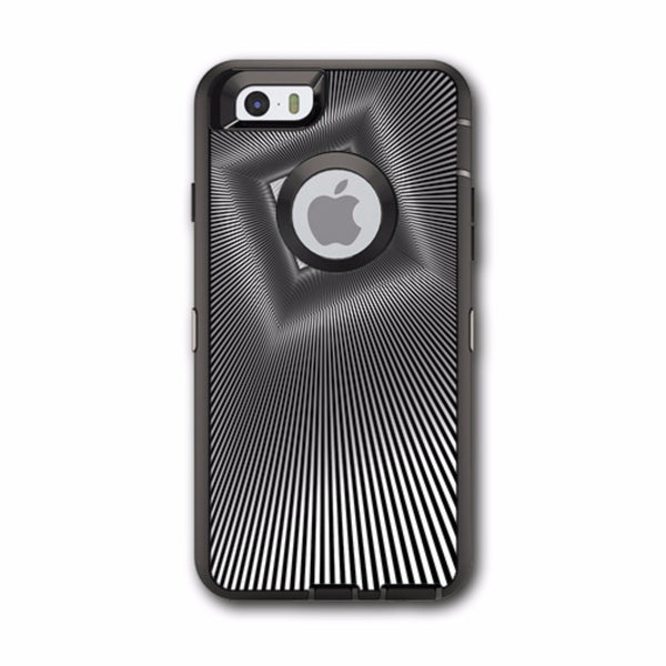 Abstract Lines And Square Otterbox Defender iPhone 6 Skin