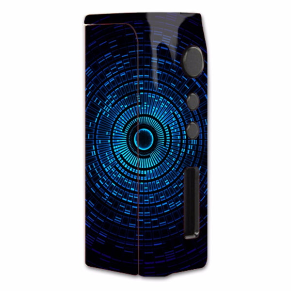 Abstract Blue Vortex Pioneer4You iPVD2 75W Skin