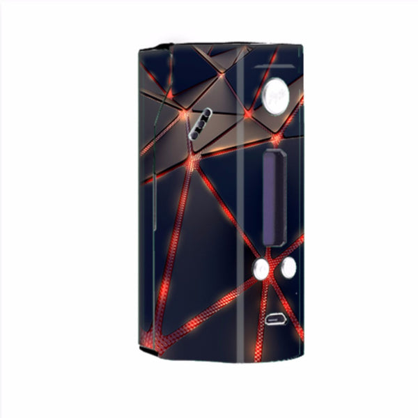 Retro Abstract Art Wismec Reuleaux RX200  Skin