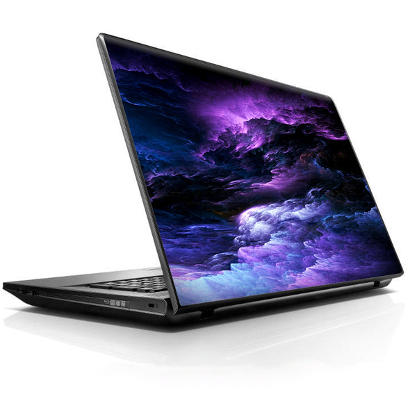 Purple Storm Clouds Universal 13 to 16 inch wide laptop Skin