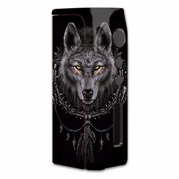 Wolf Dreamcatcher Back White Pioneer4You iPVD2 75W Skin