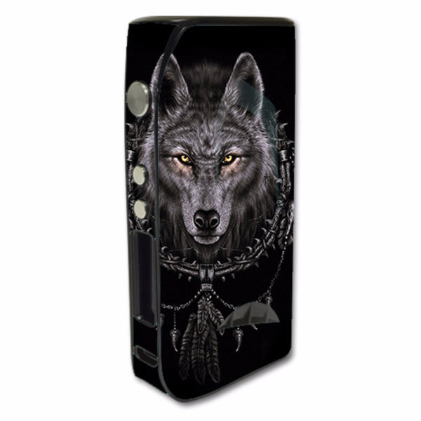Wolf Dreamcatcher Back White Pioneer4You iPV5 200w Skin