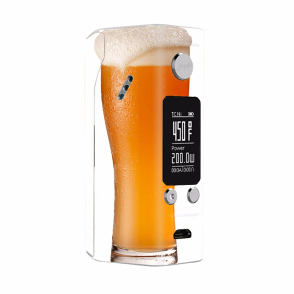 Pint Of Beer, Craft Beer Mug Wismec Reuleaux RX200S Skin