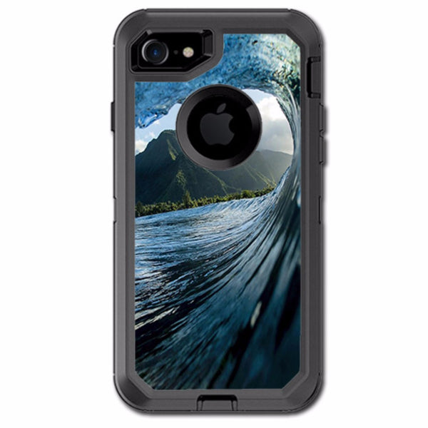 Tube Ride, Barrel, Surf Otterbox Defender iPhone 7 or iPhone 8 Skin