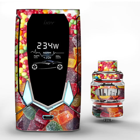 Candy Collage iJoy Avenger 270 Skin