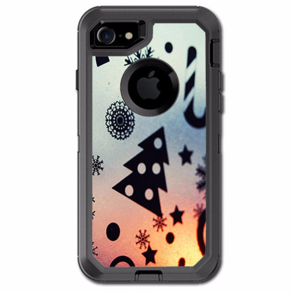 Christmas Collage Otterbox Defender iPhone 7 or iPhone 8 Skin
