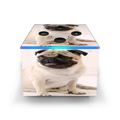Pug Mug, Cute Pug Amazon Fire TV Cube Skin