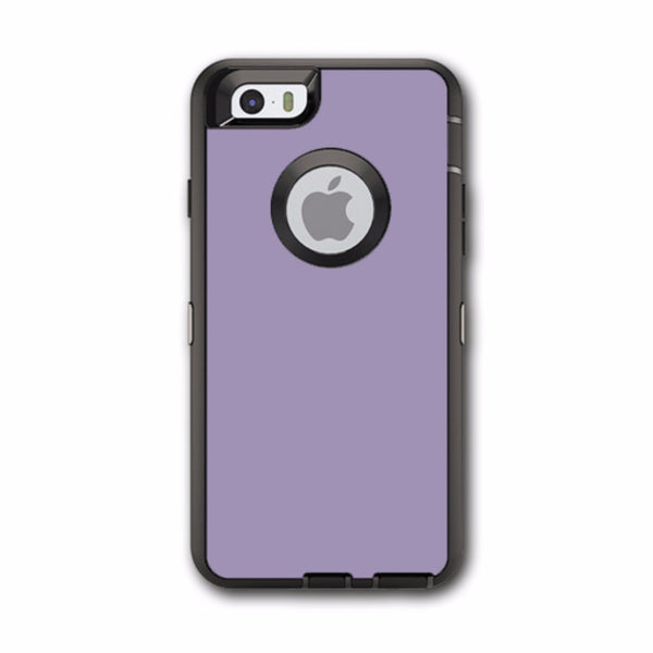 Solid Lavendar Otterbox Defender iPhone 6 Skin