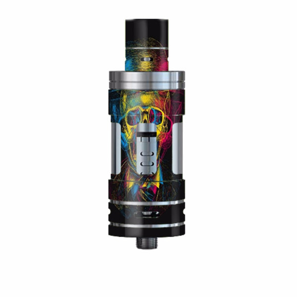 Skeleton In Derby Hat Smok TFV4 Tank Skin